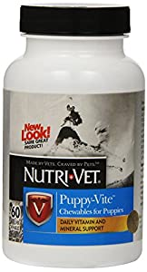 Nutri-Vet Puppy-Vite Chewables, 60 Count