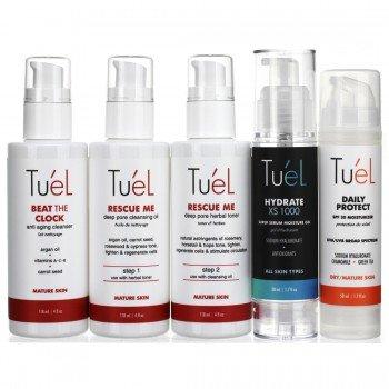 Tu'El Anti Aging Custom Skin Care Set 5 Pc Set