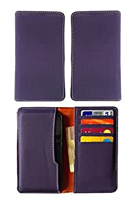 Fastway Pu Leather Pouch Case Cover For BLU Dash Music 4.0