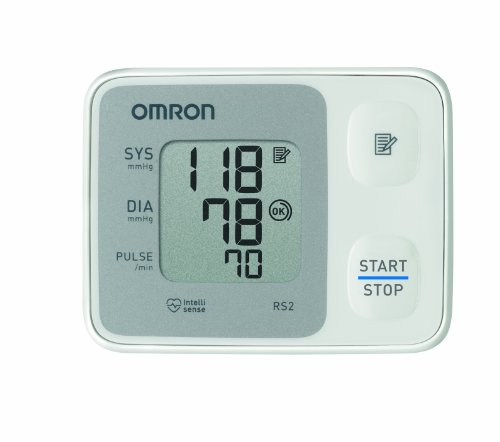 OMRON RS2 (HEM-6121-D) Handgelenk-Blutdruckmessgerät thumbnail