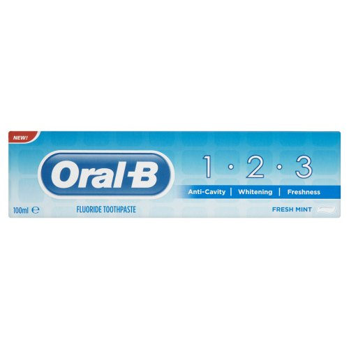 Oral-B 1-2-3 Toothpaste 100 ml (Pack of 4)