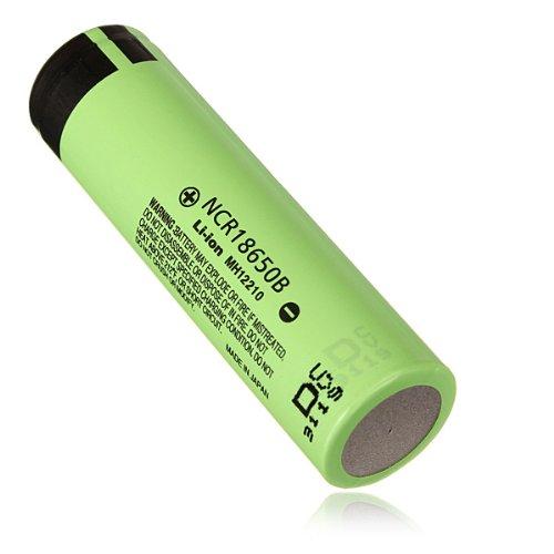 Panasonic NCR 18650 3400mAH 3.7 V Lithium Rechargeable Battery (Panasonic 3400mah Ncr18650b compare prices)
