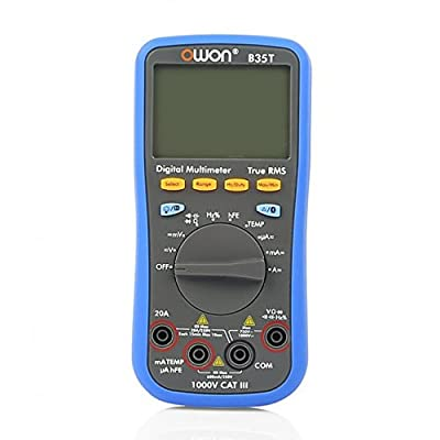 OWON Digital Multimeter with Temperature Meter, Bluetooth Interface Owon B35T (with TrueRMS)