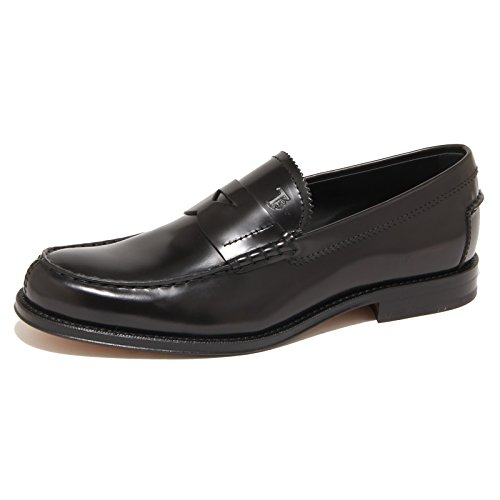 7905N mocassino uomo TOD'S pelle nero shoes man [6]