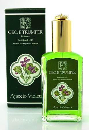 Geo F. Trumper Ajaccio Violets Cologne Atomizer, 50ml