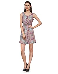 Ausy Women's Printed Sheath Dress