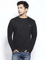 Everest Crew Neck Sweatshirt in Fair Trade Organic Cotton Fleece Brushed