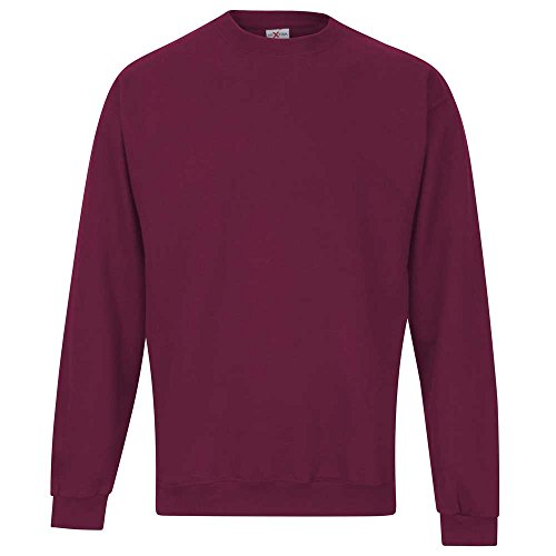 RTXtra RTXtra Mens Classic Colours Long Sleeve Crew Neck Sweatshirt Jumper