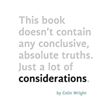 Considerations (       UNABRIDGED) by Colin Wright Narrated by Colin Wright