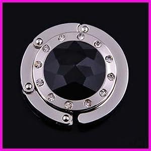 Folding Section Diamond Handbag Purse Hook Hanger QM004