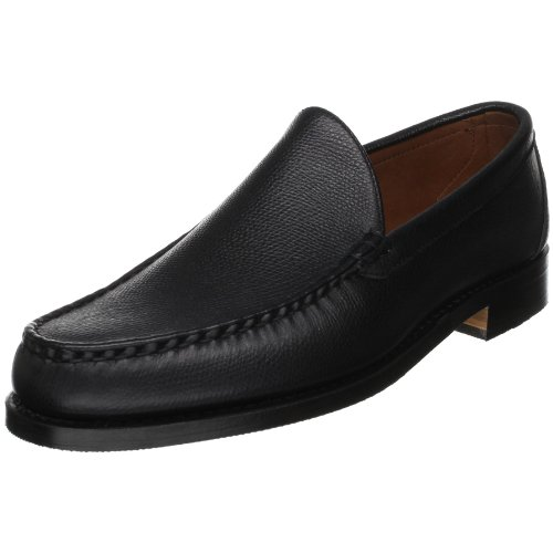 Allen Edmonds Men's Sanibel Slip-On,Black Grain,8.5 E US