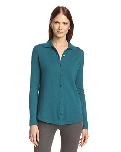 Cashmere Addiction Women's Long Sleeve Shirt Sweater