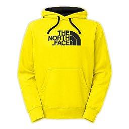 The North Face Men\'s Half Dome Hoodie (Energy Yellow, Medium)