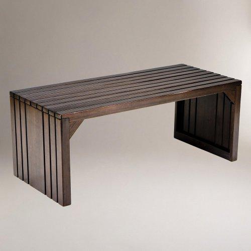 Alexander Slat Table Bench - World Market