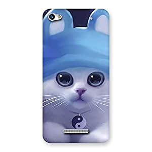 Special Tie Chi Cat Multicolor Back Case Cover for Micromax Hue 2