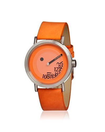 Simplify Men's SIM0505 The 500 Orange/Orange Leather Watch