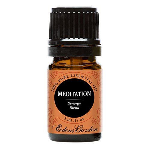Meditation Synergy Blend Essential Oil by Edens Garden (Ylang Ylang, Patchouli, Frankincense, Clary Sage, Sweet Orange & Thyme)- 5 ml