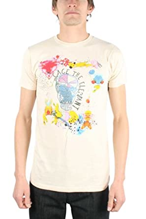 Cage The Elephant - Album Cover Mens S/S T-Shirt In White, Size: X-Large, Color: White