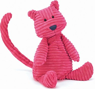 Plush Cordy Roy Pink Cat 15