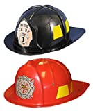 Adult Fireman Hat - Black