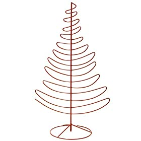 Paperchase Red Wire Tree