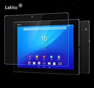 Lakko Sony Xperia Z4 Tablet 液晶保護ガラスフィルム 9H 飛散防止 10.1インチ 日本板硝子社国産ガラス採用