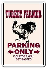 Turkey Farmer Sign
