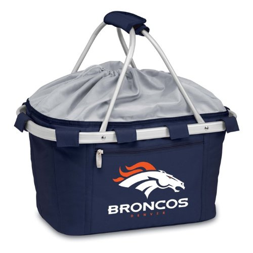 NFL Denver Broncos Metro Insulated Basket, Navy