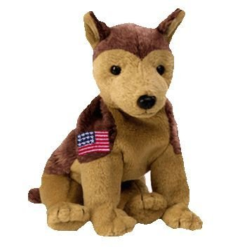 Ty Beanie Buddies Courage - NYPD Dog (Ty Store Exclusive) - 1