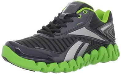 (疯抢)Reebok Men's ZigActivate Running Shoe锐步顶级Zigtech跑鞋 蓝$39.95第三方