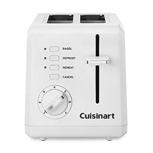 Cuisinart 2-Slice White Toaster -  - Cuisinart