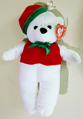 "Cuddly Cousins Plush Christmas Bear 10"" Tall"