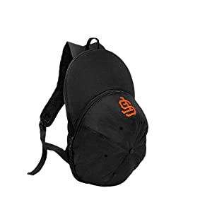 MLB San Francisco Giants Heads Up Backpack, Black by Concept 1
