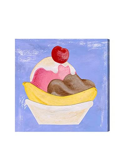 """Olivia's Easel Kids' Banana Split Canvas Art, Multi, 20"""" x 20"""""""