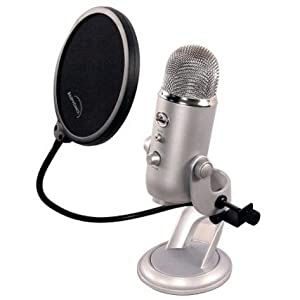 Auphonix 6-inch Pop Filter For Blue Yeti Microphone from Auphonix