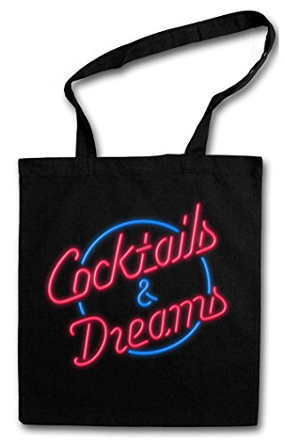 Cocktail & Dreams Cocktail 80s Movie Shopping Bag