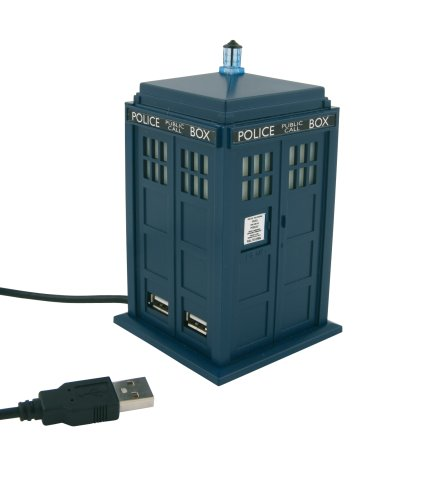 Dr. Who: 4-Port USB Hub - 11th Doctor's TARDIS