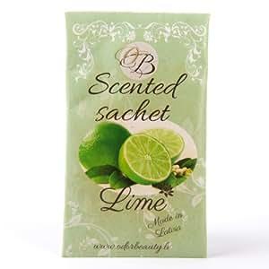 Odor Beauty Handmade Air freshener Lime Scented Sachet