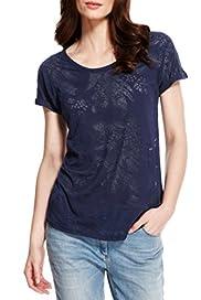 Leaf Print T-Shirt [T41-3524C-S]