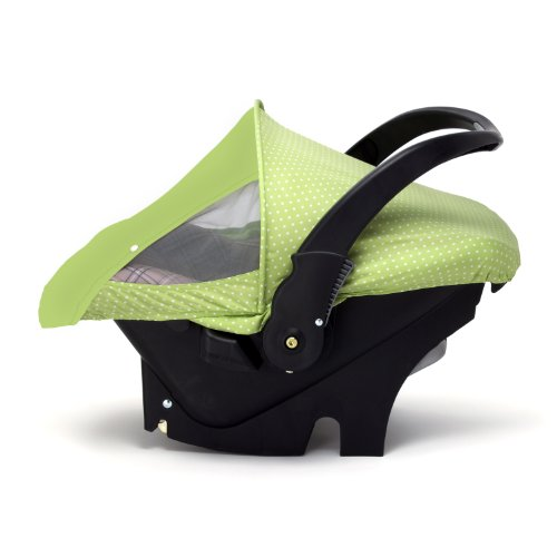 Cozy Car Seat Sun And Bug Cover (Green) front-90843