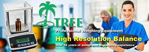 Balance de laboratoire arbre HRB1002 1000 g/0.01 g-numérique Portable pour peser pharmaceutiques biologie précision Tare Medical Balance Cuisine scientifique University