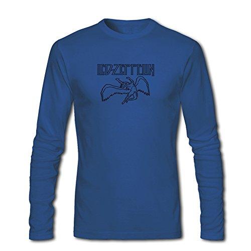 Led Zeppelin long sleeve Tops T shirts -  Maglia a manica lunga  - ragazzo Blue XL/11-12 Anni