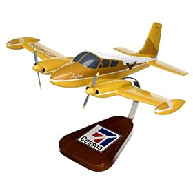 Cessna 310 Wooden Display Model