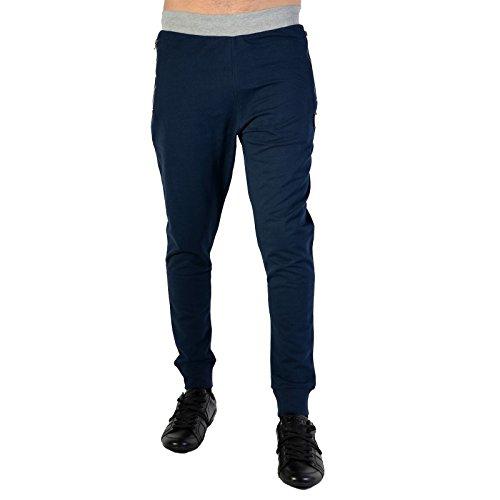 Redskins -  Pantaloni sportivi  - Uomo blu L