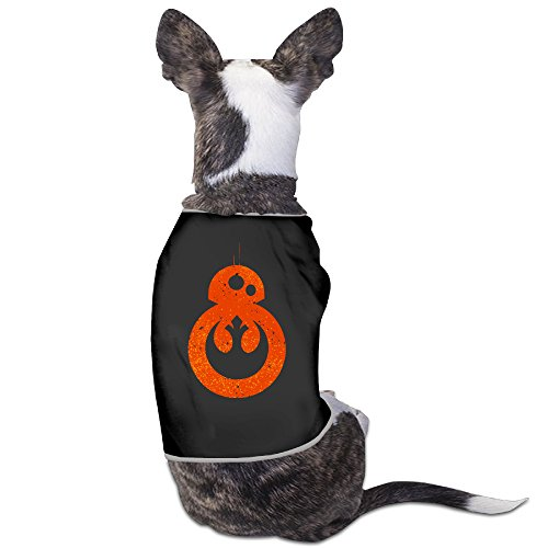 [BB-8 Rebel Alliance Doggie Shirt Style Fits Small Dogs.] (Bb 8 Dog Costume)