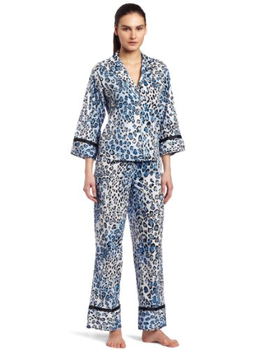 Josie by Natori Women's Lucky Cat Pajama