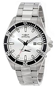 Invicta Men's 15183SYB Pro Diver Silver Dial Stainless Steel Watch