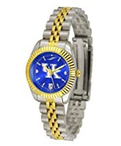 Kentucky Wildcats UK Ladies Gold Dress Watch