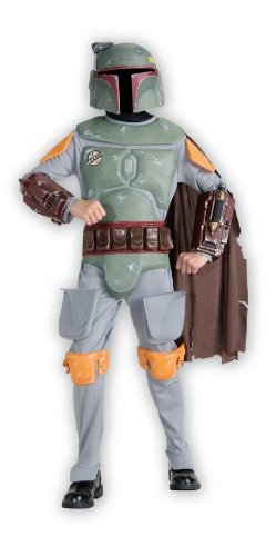 Star Wars Boba Fett Deluxe Child Costume (Small) image