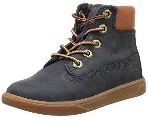 timberland-groveton-6in-lace-wi-sneakers-hautes-mixte-enfant-bleu-blue-25-eu